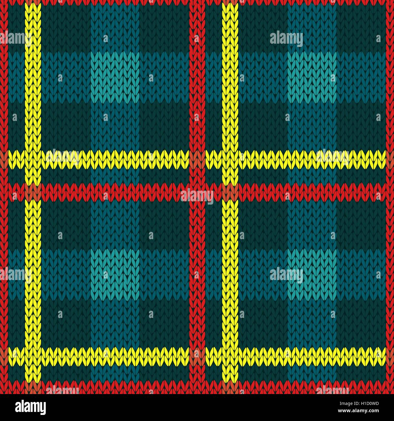 Seamless vector pattern as a woollen Celtic tartan plaid or a ...