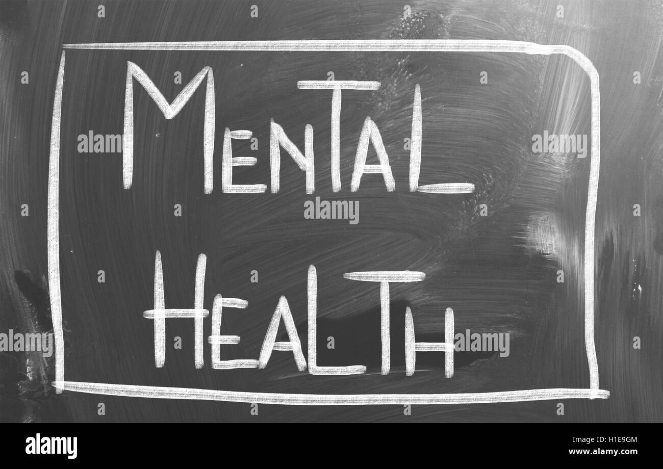 Mental Health Concept - Stock Image