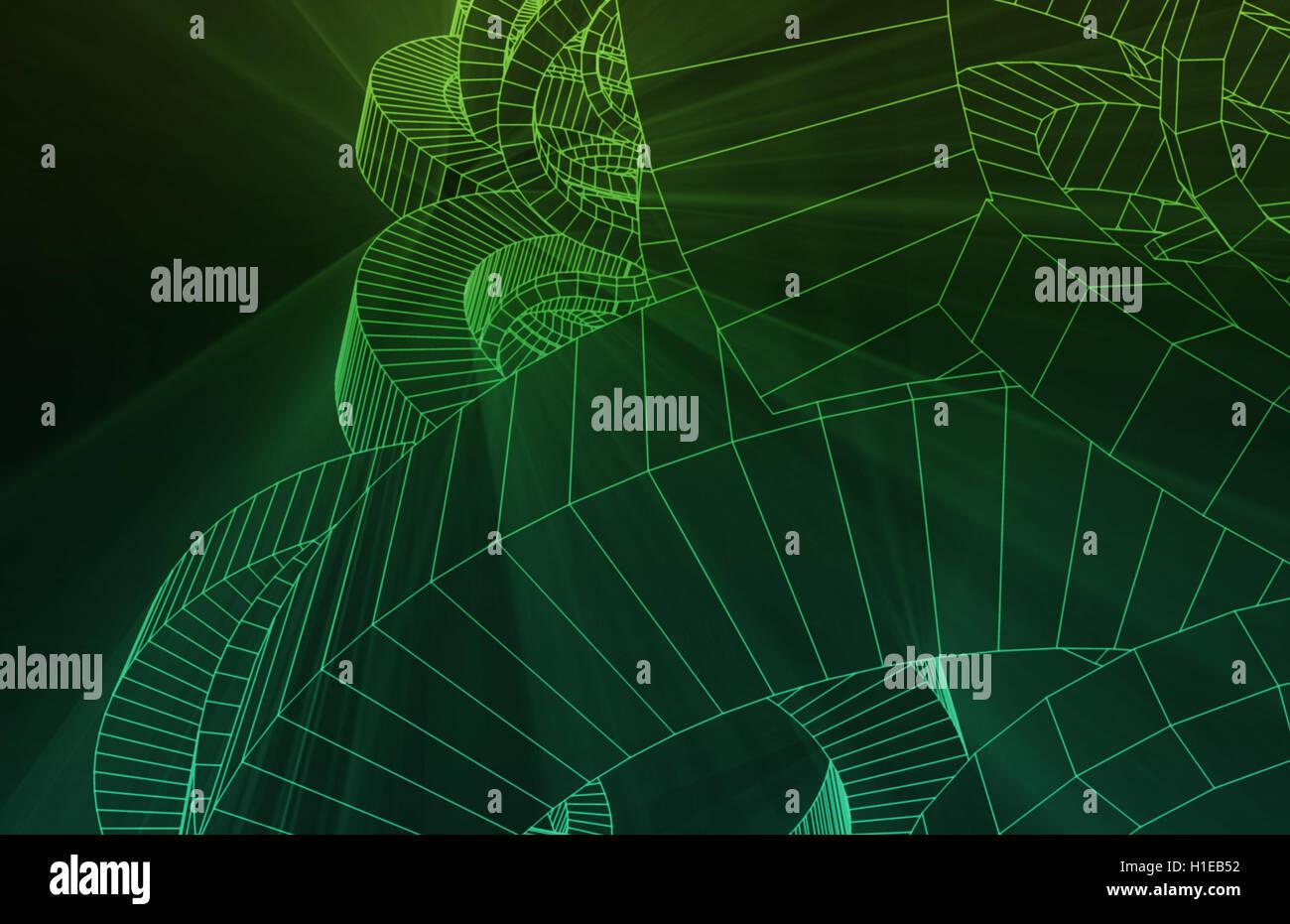 Design Schematics - Stock Image