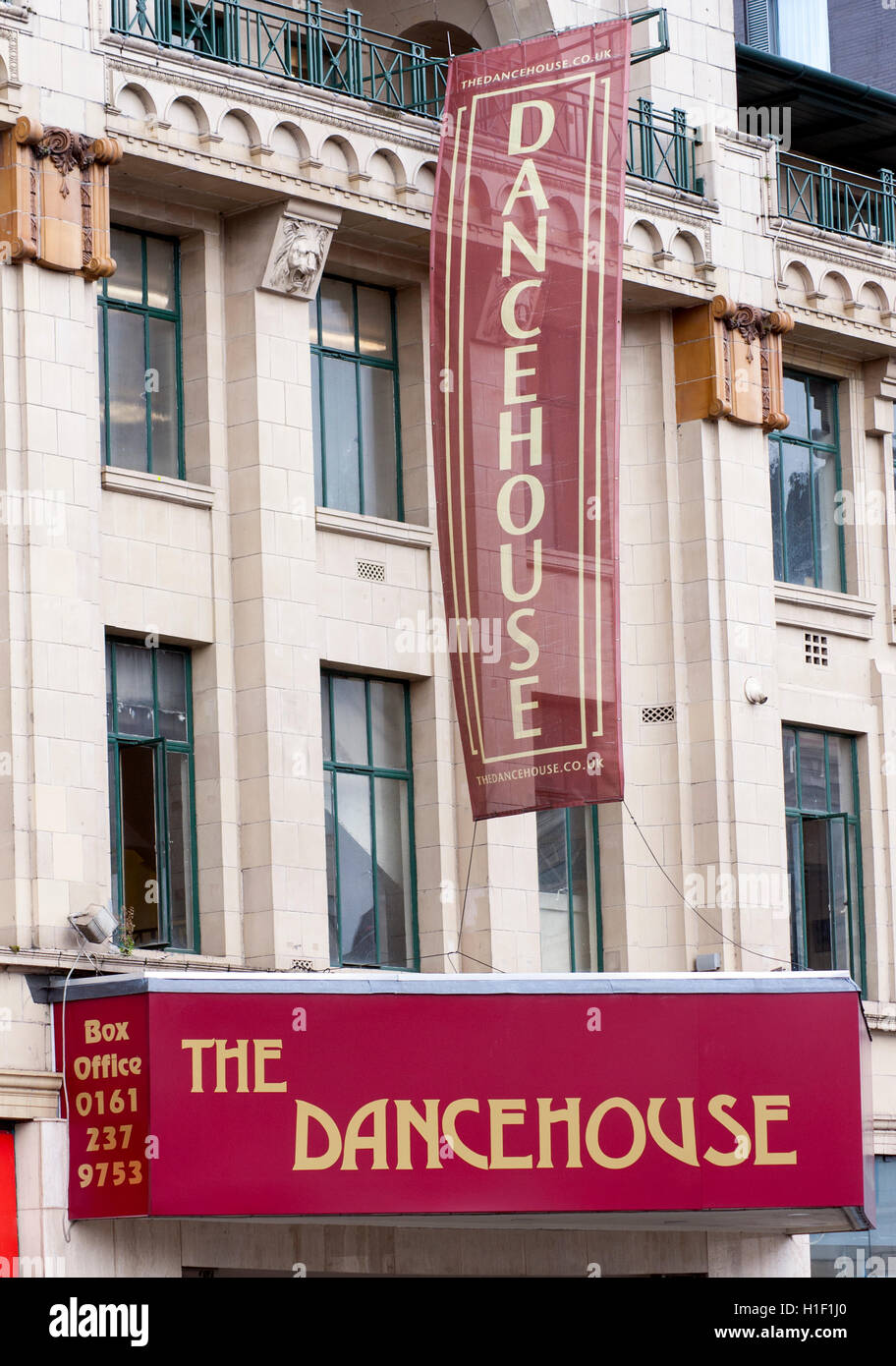 The Dancehouse Oxford Road Manchester - Stock Image