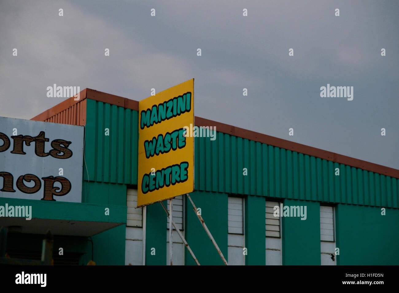 Manzini waste centre, Manzini, Kingdom of Swaziland - Stock Image