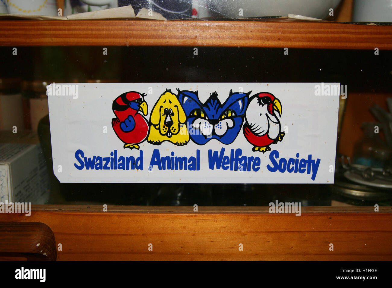 Swaziland Animal Welfare Society, SAWS, Kingdom of Swaziland - Stock Image