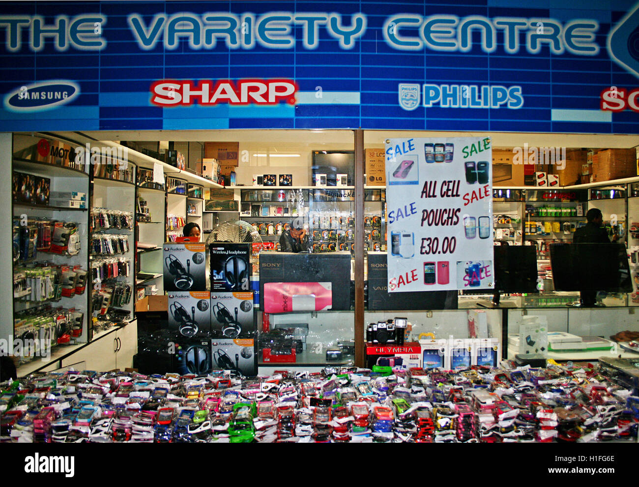 Retail , Mbabane, Kingdom of Swaziland Stock Photo