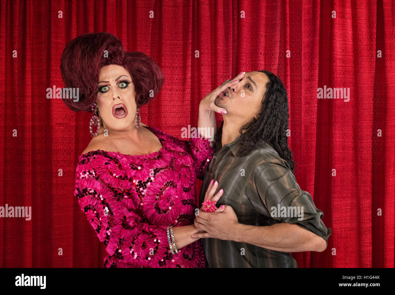 transvestite couple