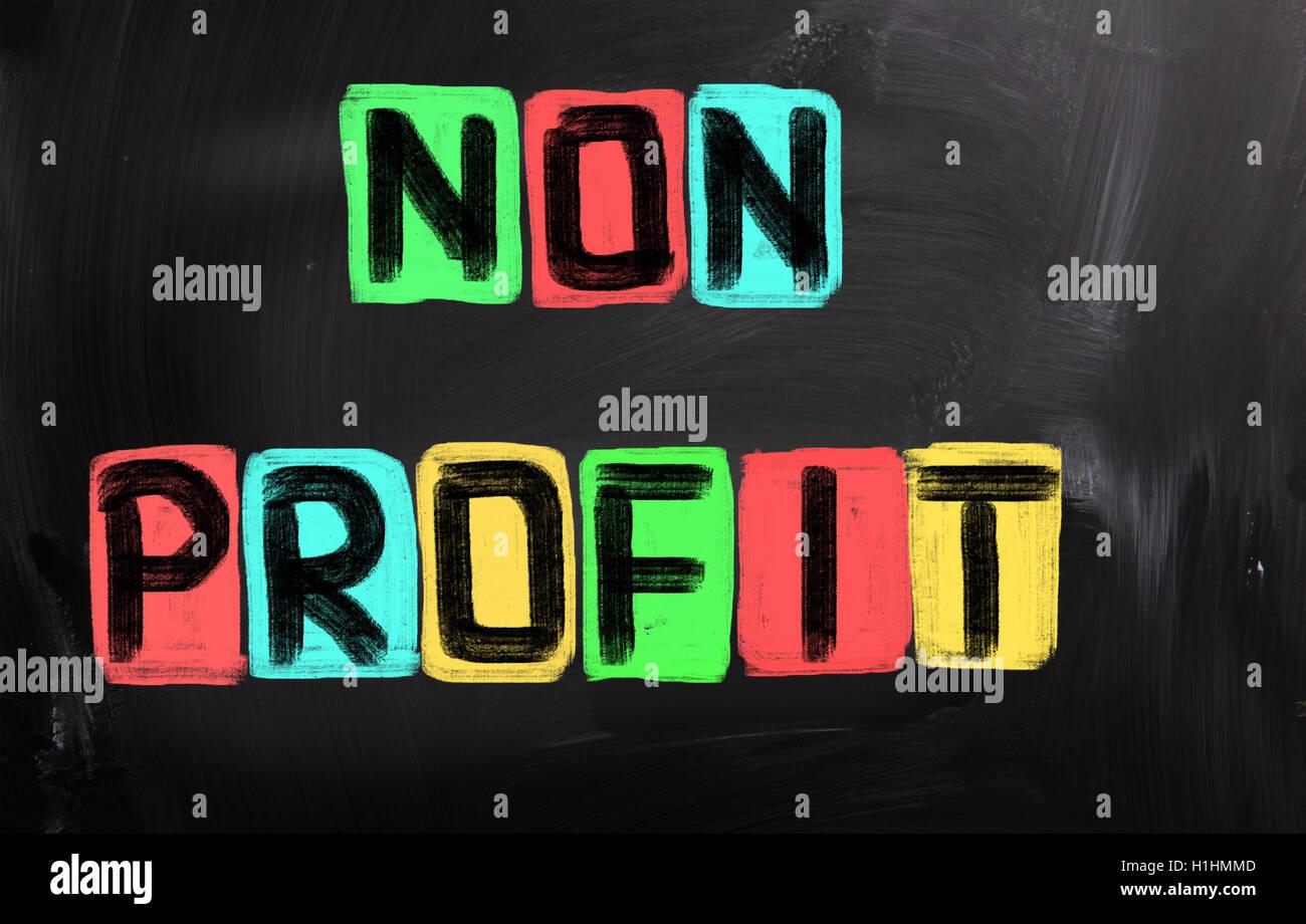 Non Profit Concept - Stock Image