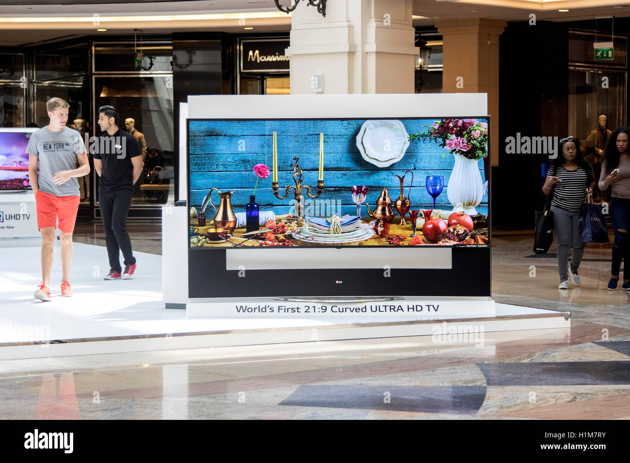 Mall of the Emirates shopping centre - Stock Image