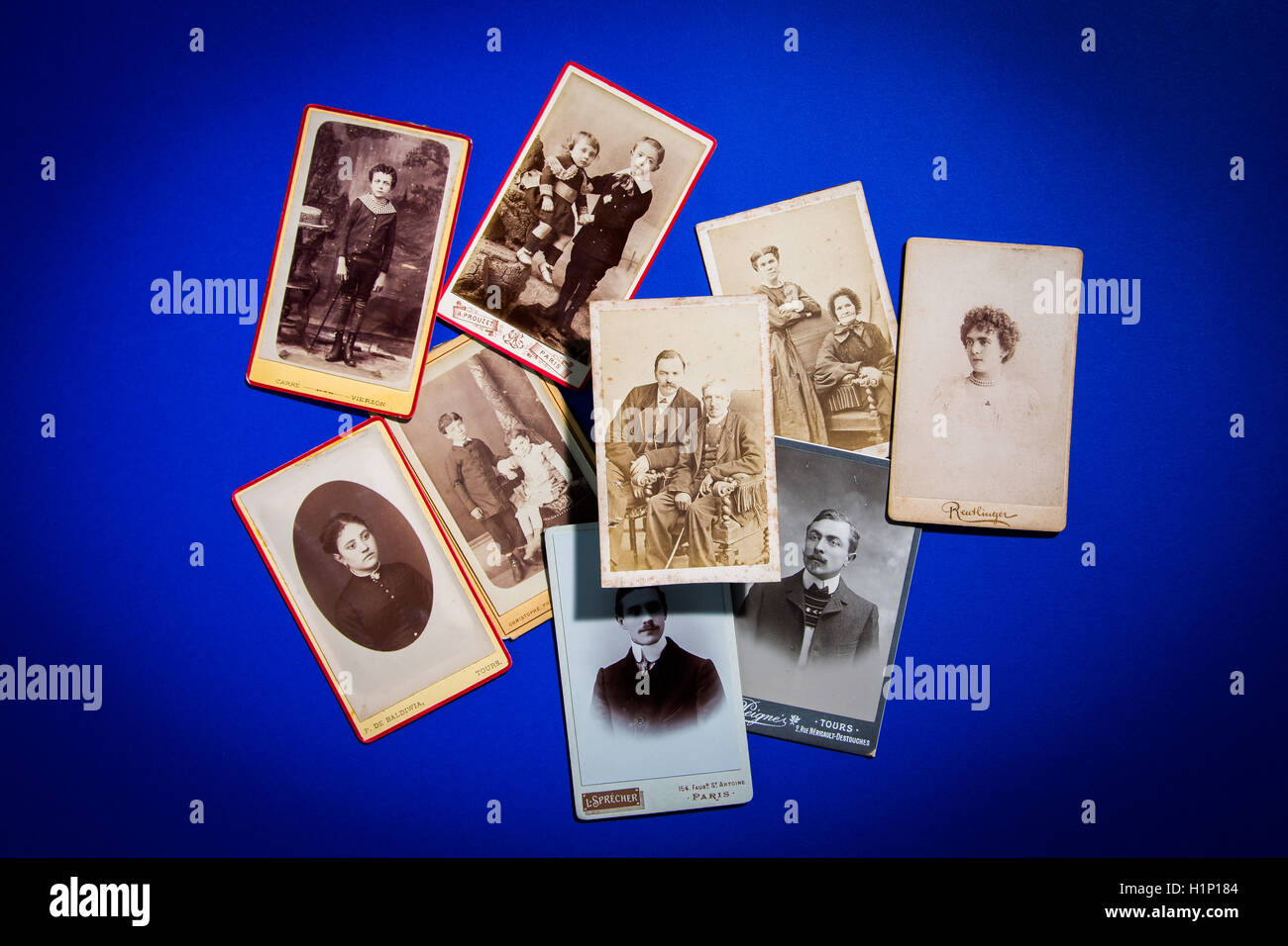 Old pictures. - Stock Image