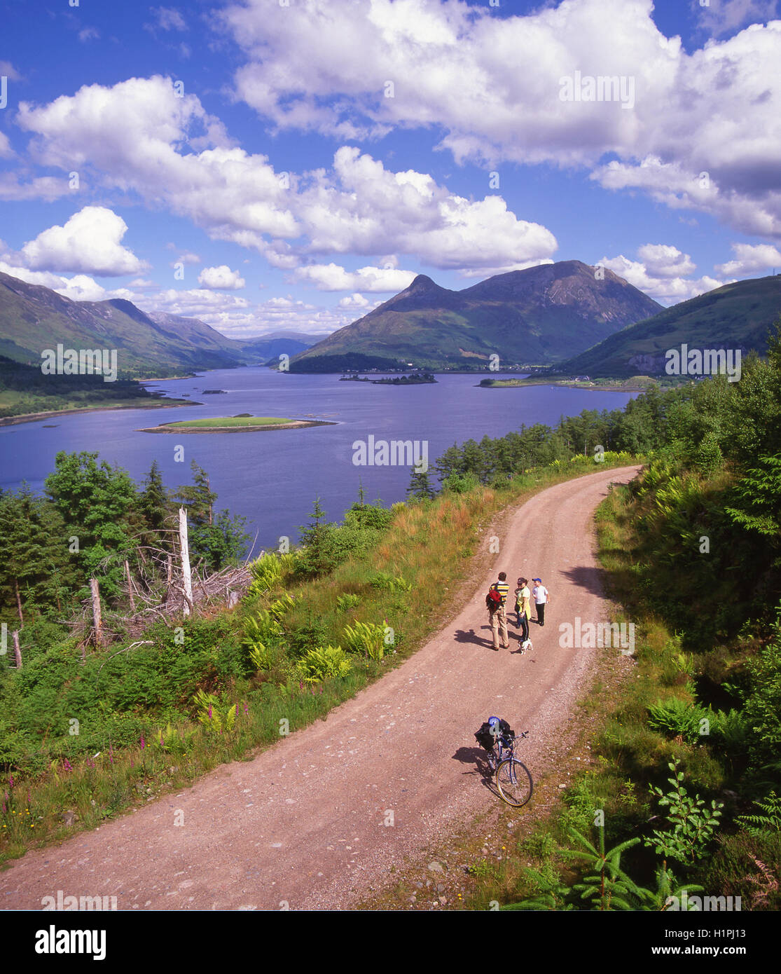 Pap of Glencoe, Loch Leven, West Highlands - Stock Image