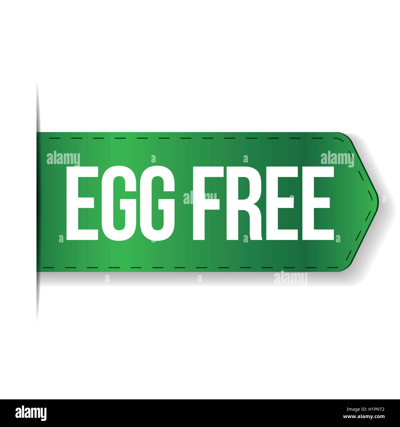 Egg Free sign vector - Stock Vector