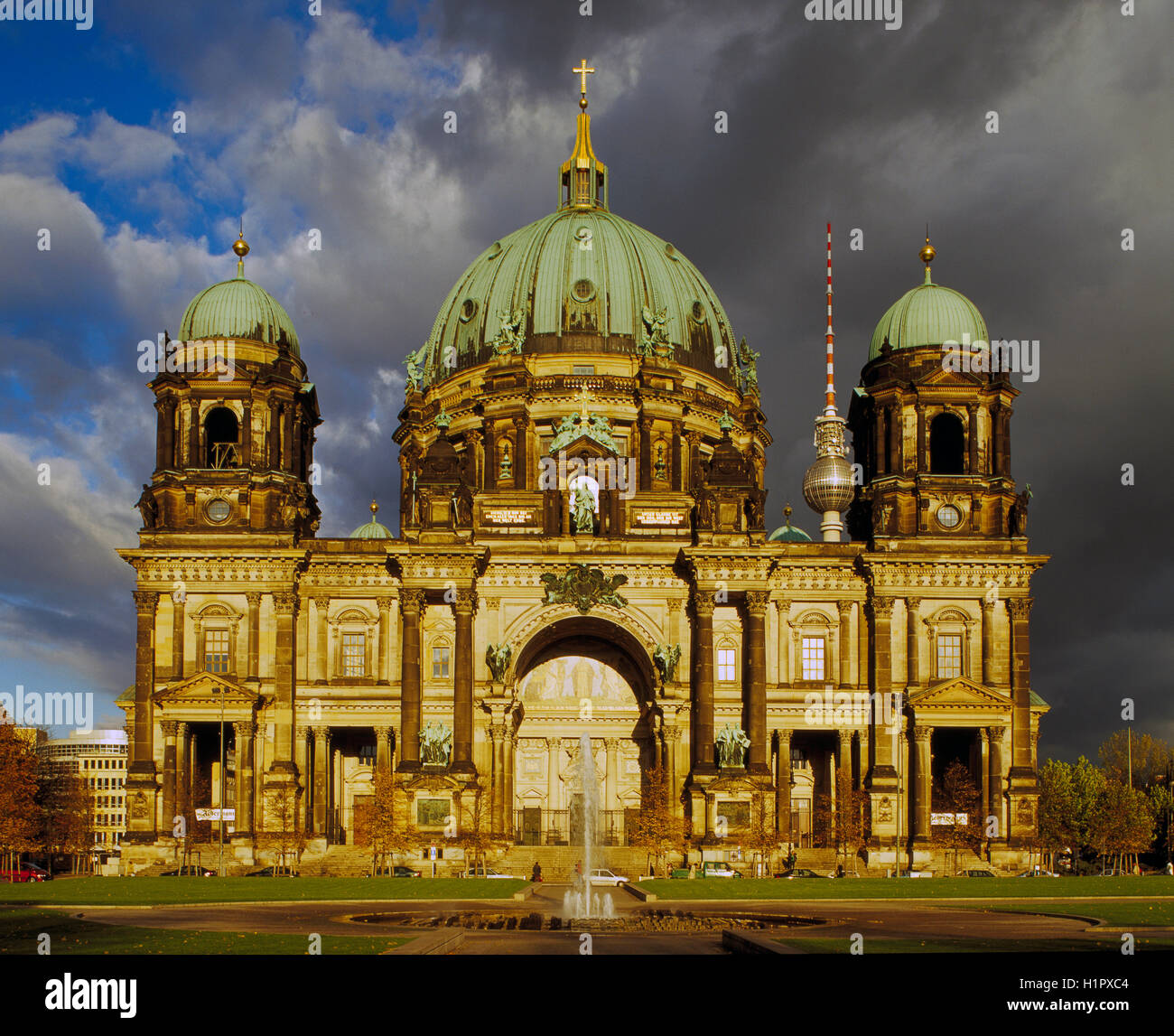 The Berliner Dom, Berlin, Germany - Stock Image