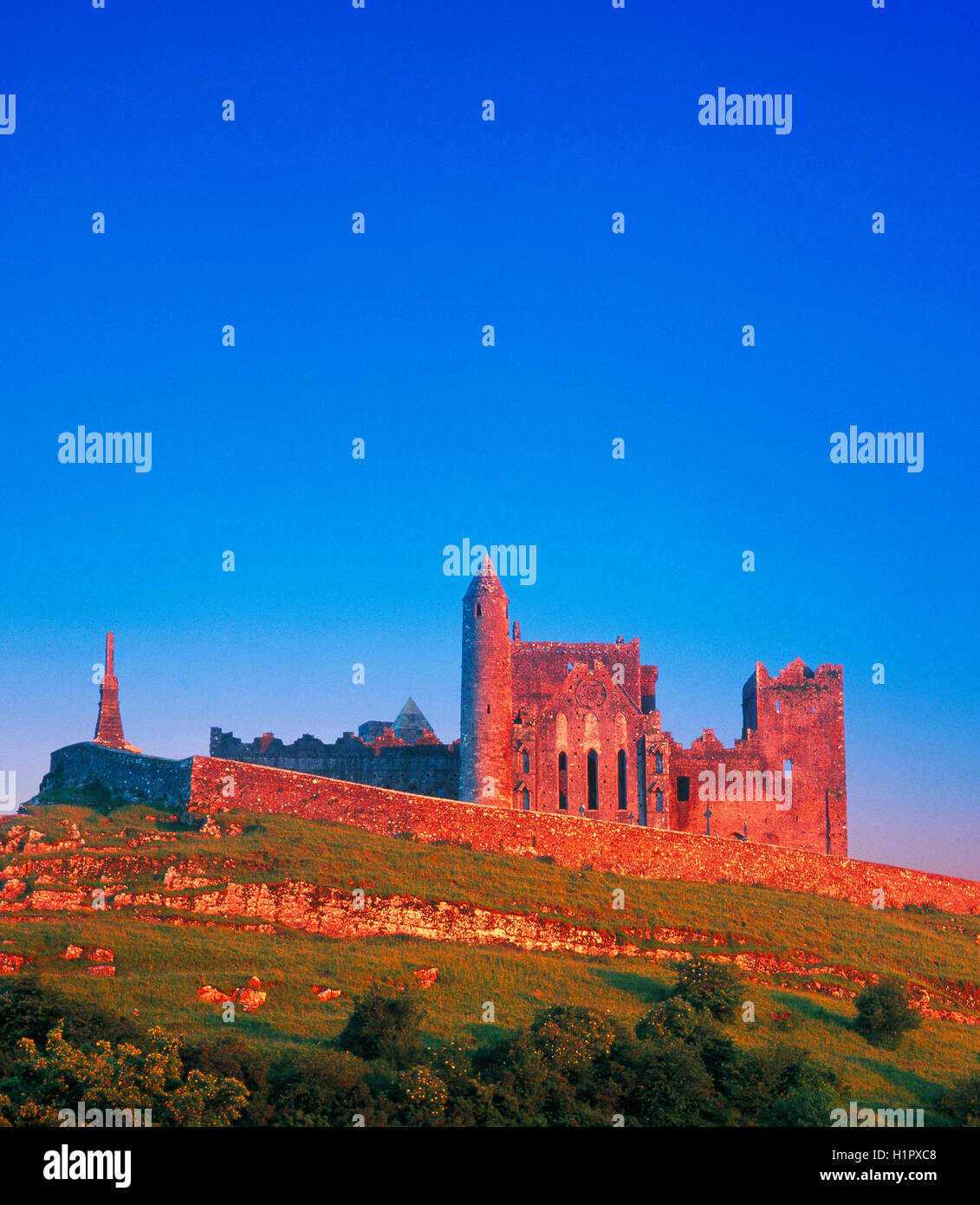Rock of Cashel, County Tipperary, Ireland - Stock Image