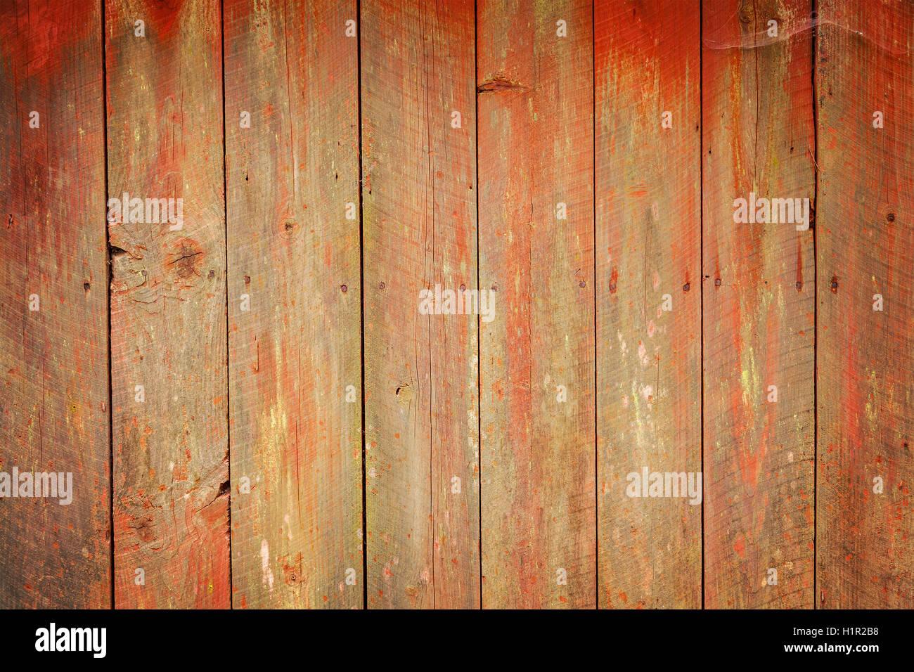 Weathered wood planks background. - Stock Image