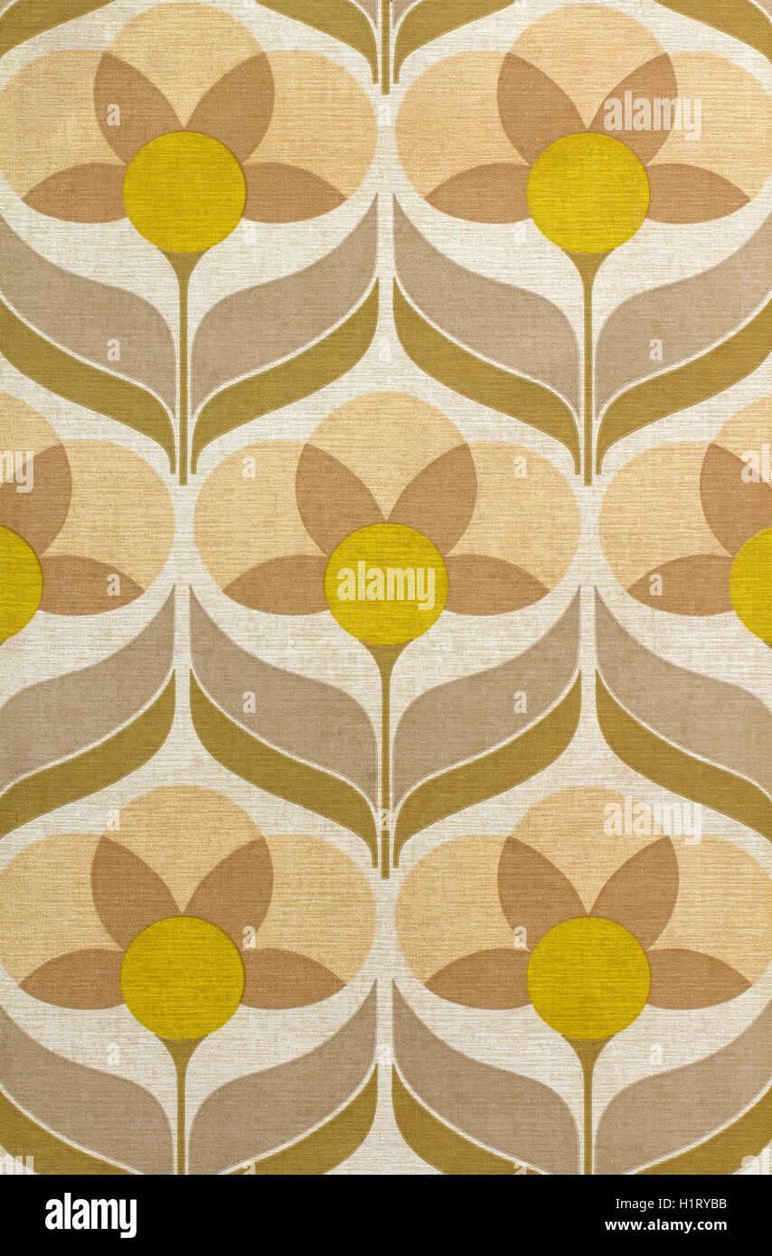 Sixties wallpaper - Stock Image