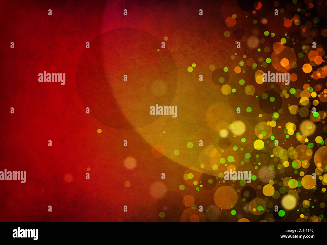Computer generated Christmas background with shapes, blurs, motion an light effects - Stock Image
