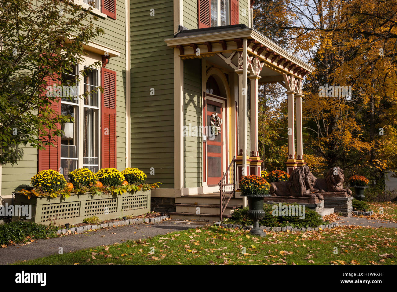 Landmark Inn, Bed and Breakfast, Cooperstown, NY Stock Photo