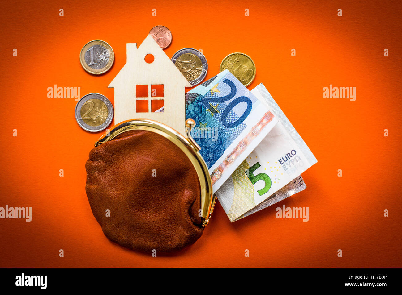 Cost of housing. - Stock Image