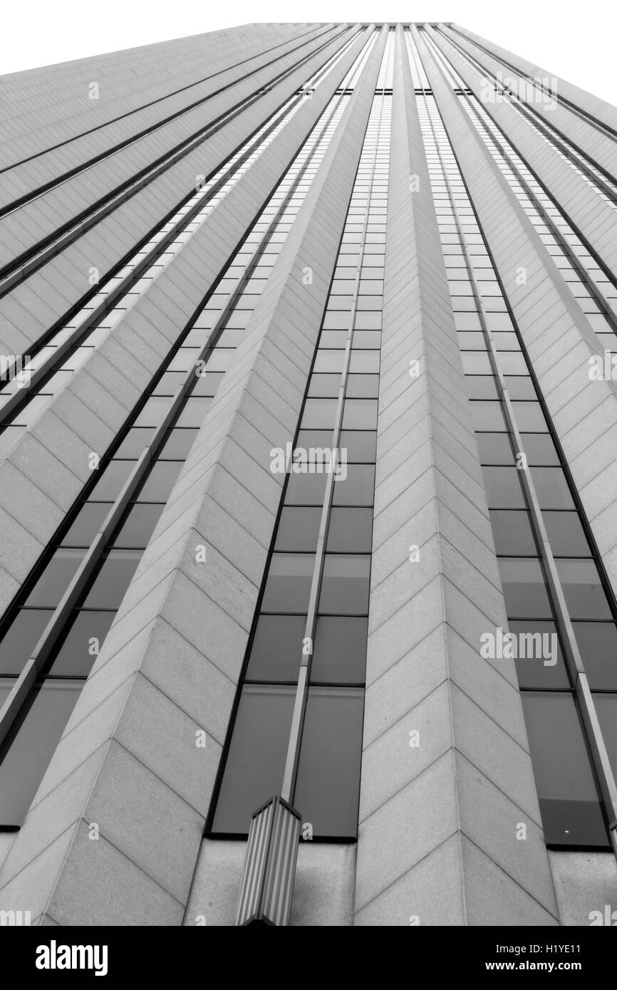 The Aon Center in Chicago, IL, the third tallest building in the city. - Stock Image