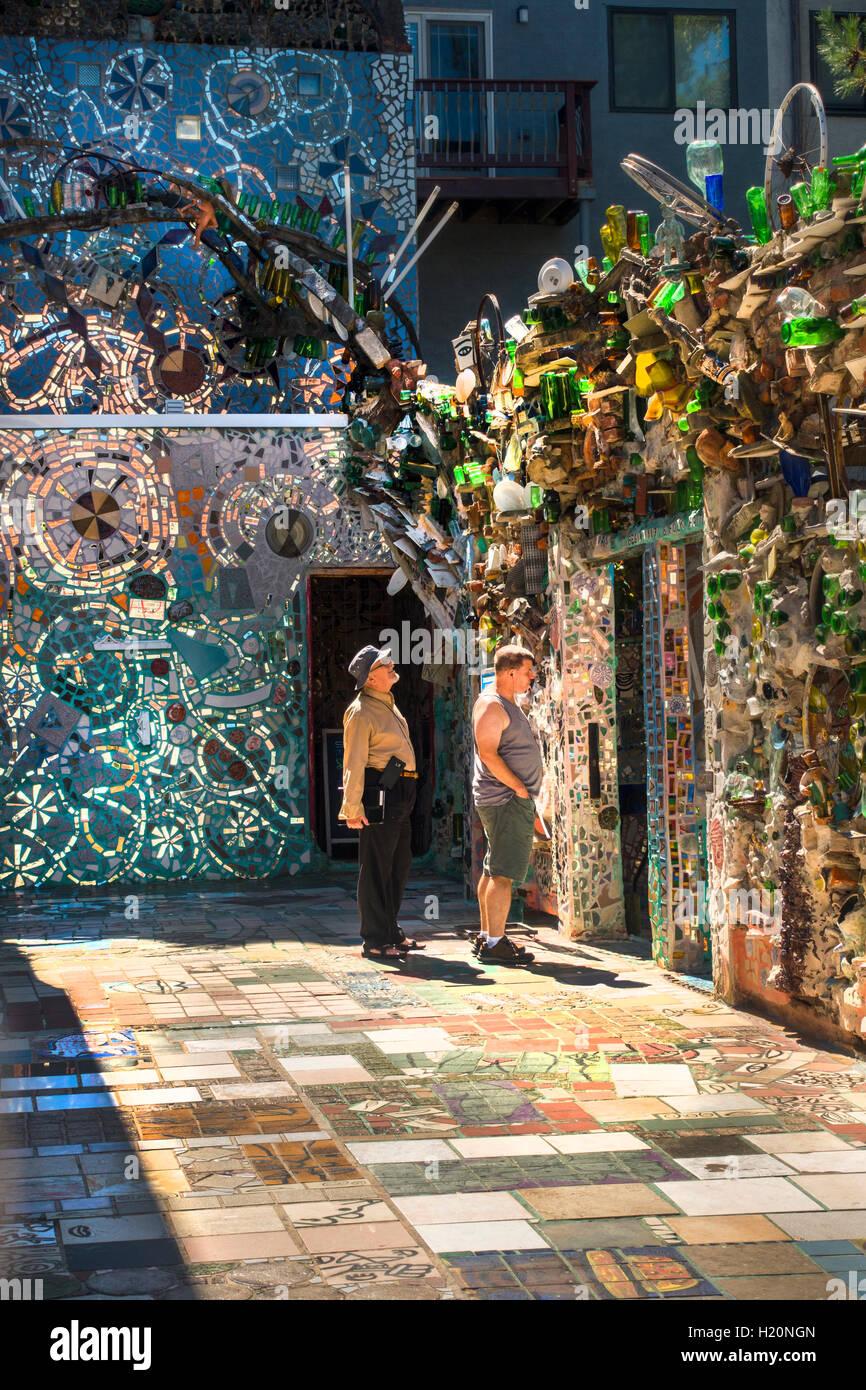 philadelphia magic garden by isaiah zagar stock image - Magic Garden Philadelphia