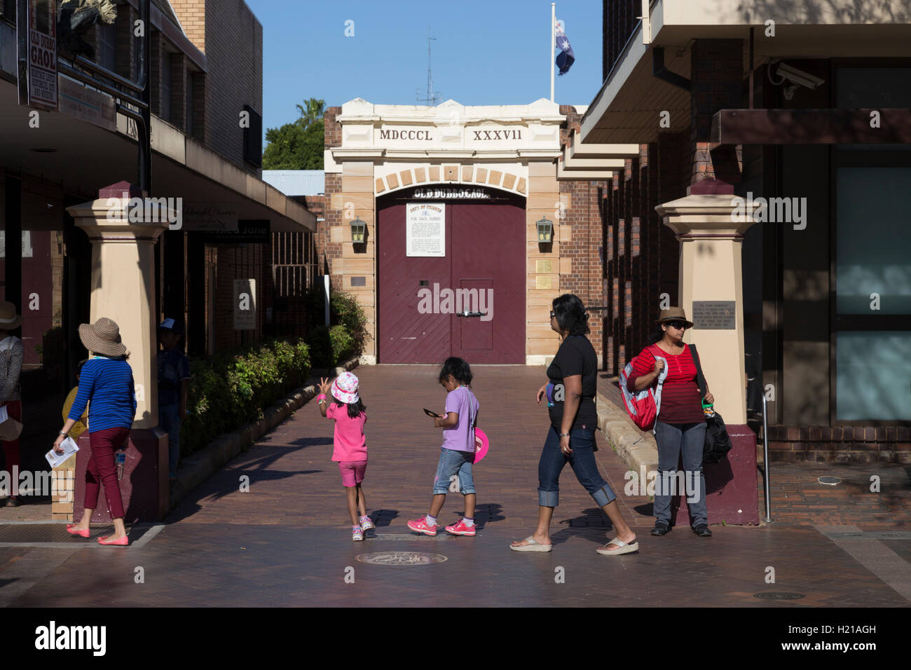 Old Dubbo Goal was a prison in the city of Dubbo, New South Wales, Australia. Dubbo New South Wales Australia Stock Photo