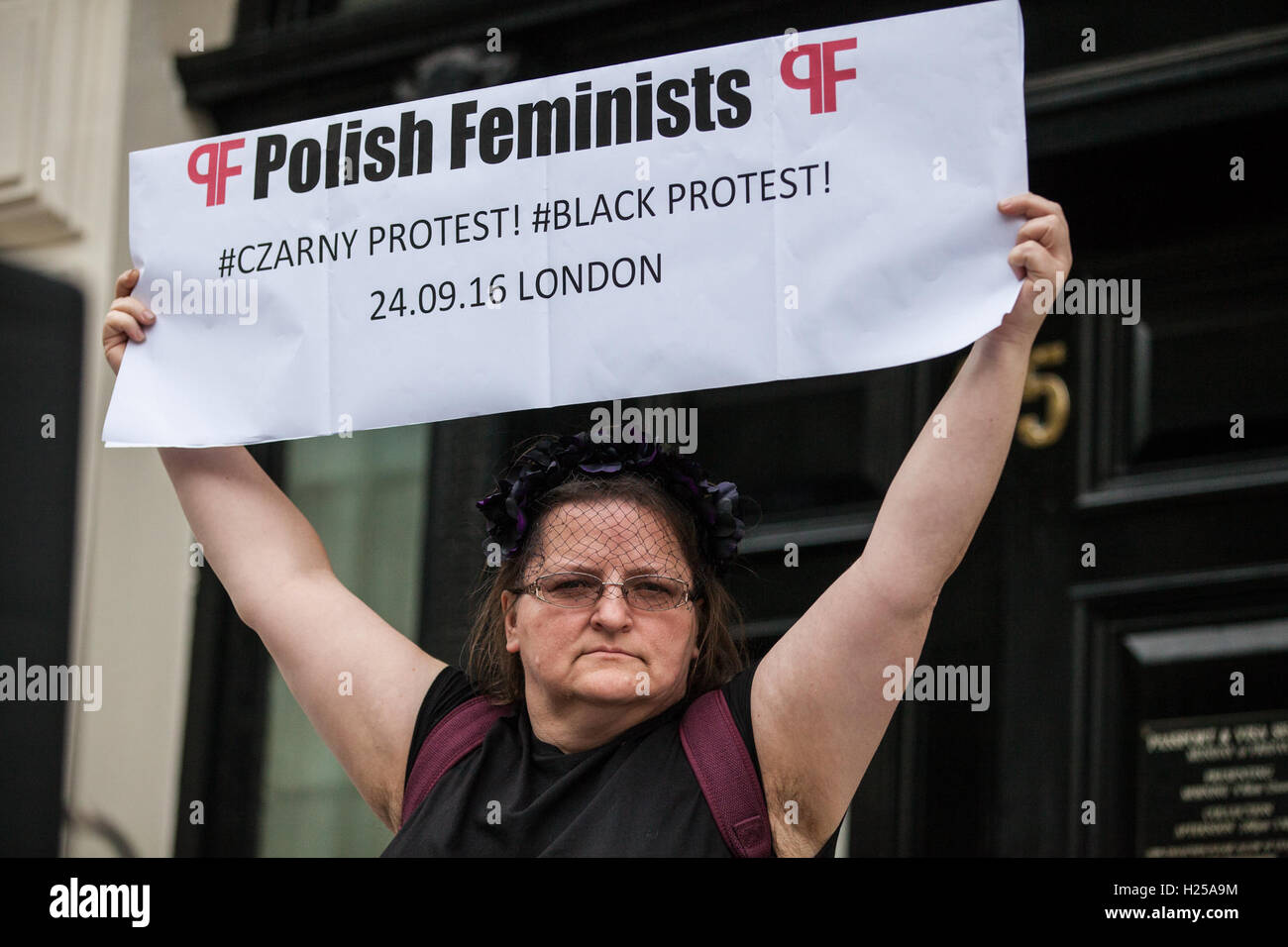https://c8.alamy.com/comp/H25A9M/london-uk-24th-september-2016-a-polish-feminist-outside-the-polish-H25A9M.jpg