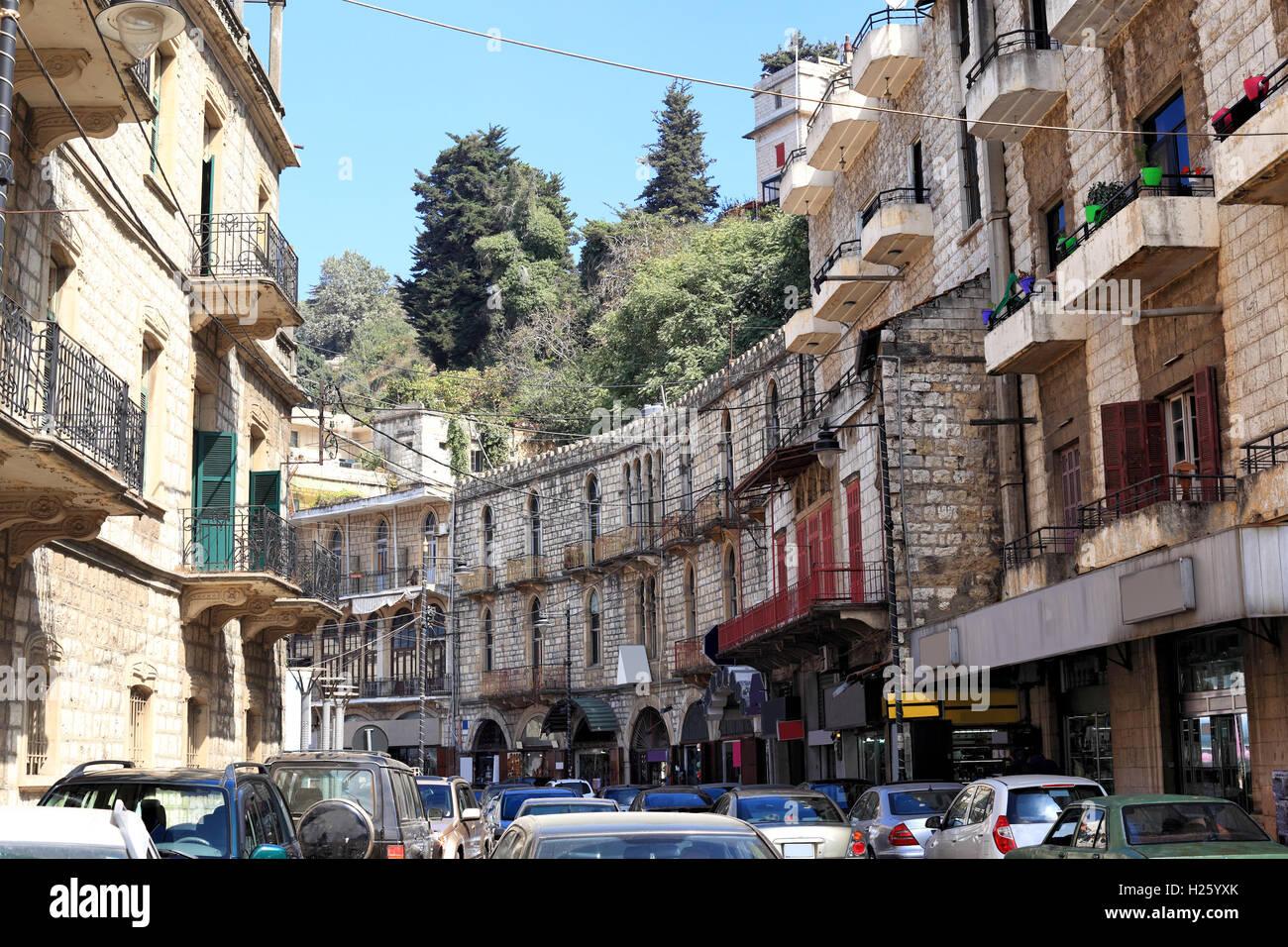 Aley souks, Lebanon - Stock Image
