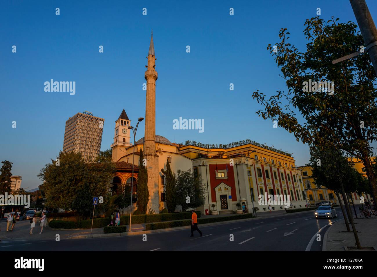 Tirana, Albania - Stock Image