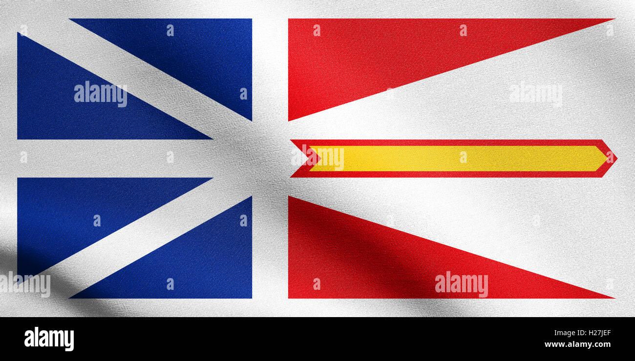NEWFOUNDLAND CANADA TRICOLOUR 5 X 3 FLAG Canadian