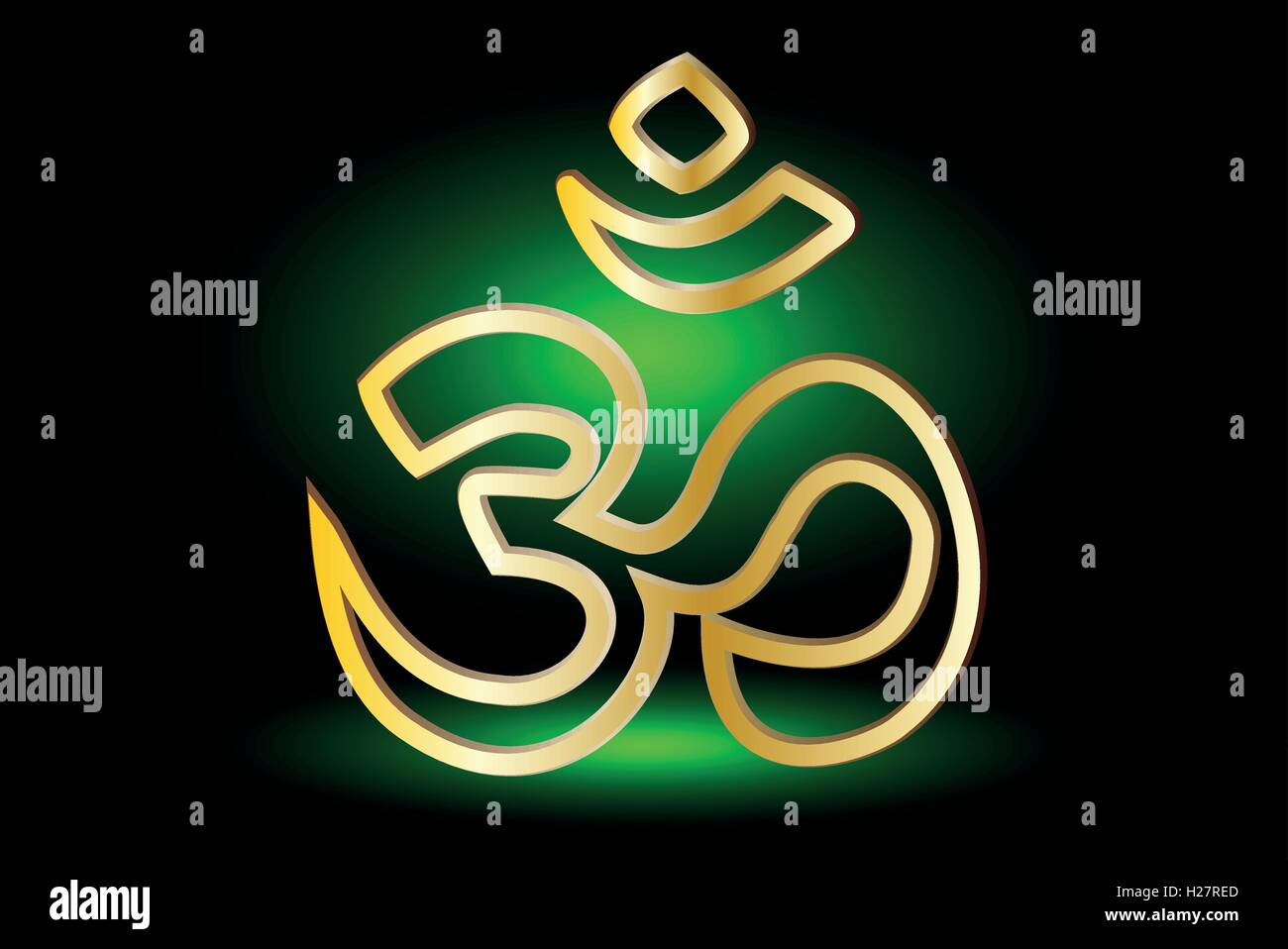 Symbol Of Hinduism Om Symbol Of Hinduism Stock Vector Art