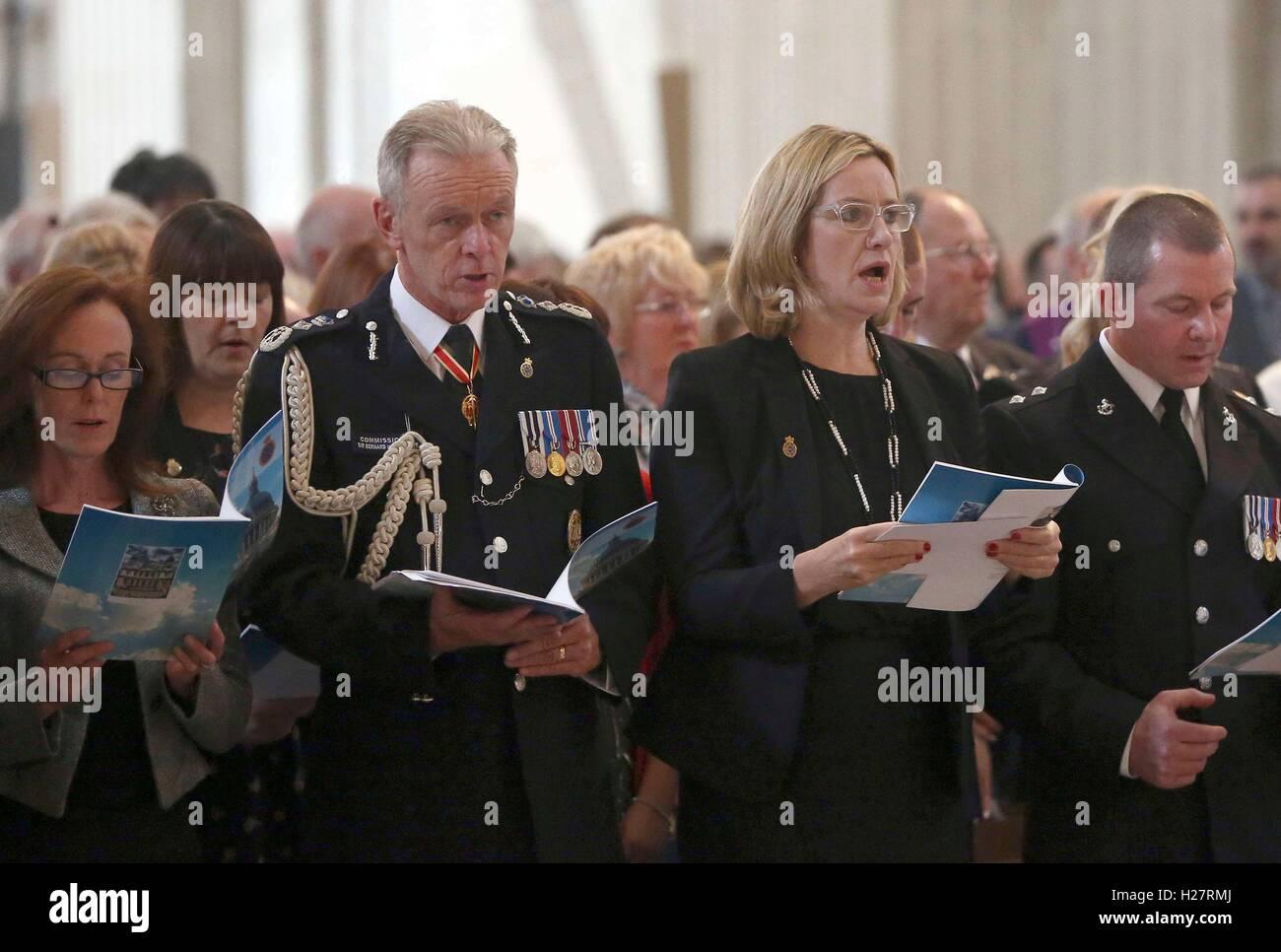 Metropolitan Police Commissioner Sir Bernard Stock Photos