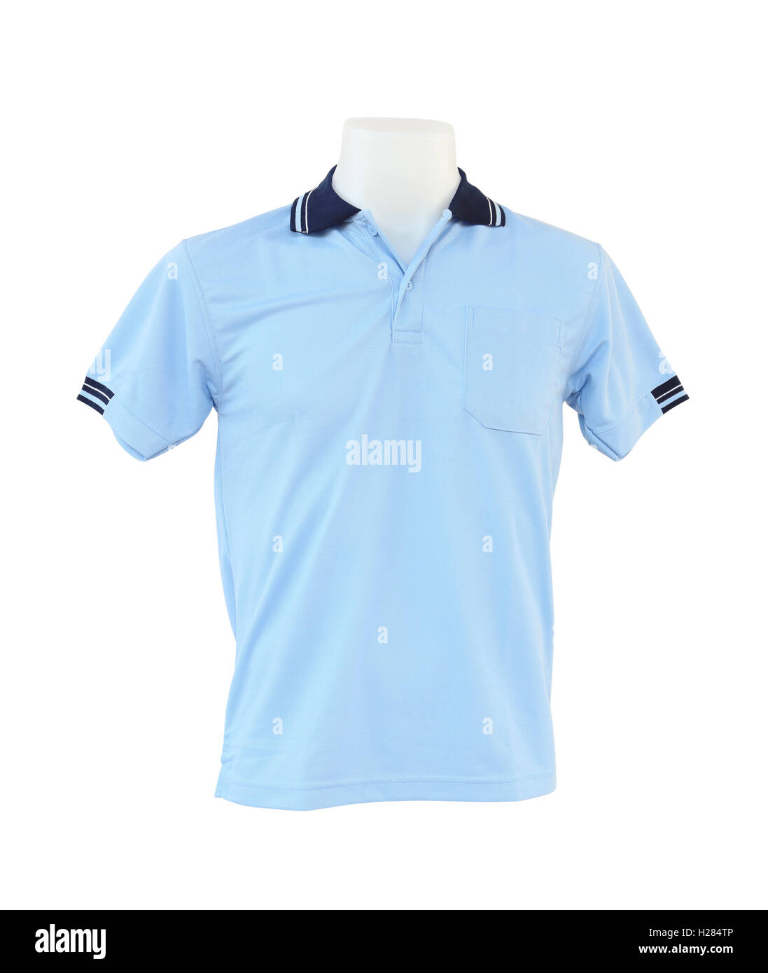 219ac20b31b2 Blue Polo T Shirt On Mannequin Stock Photos   Blue Polo T Shirt On ...