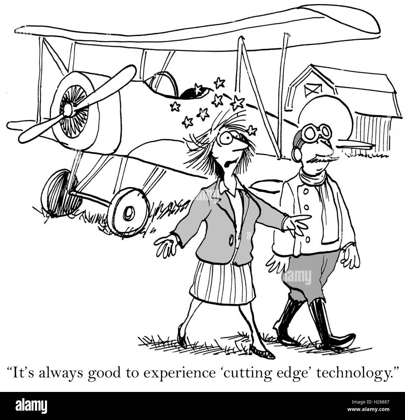 Cutting Edge Technology - Stock Image