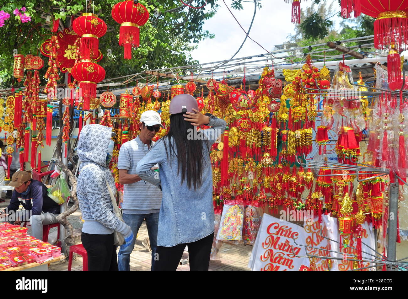Chinese New Year Decoration Items Stock Photos Chinese New Year