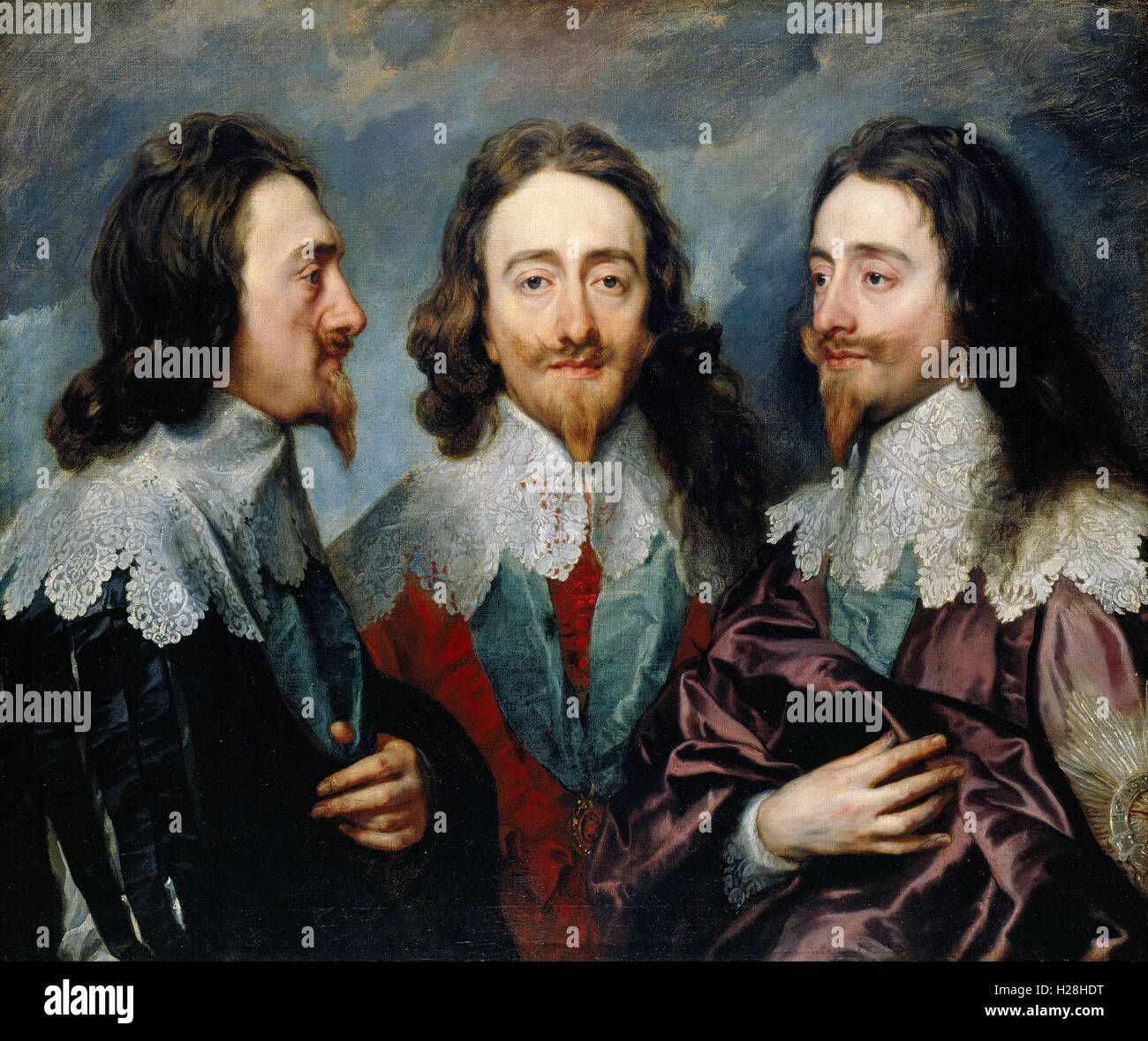 Charles I, King Charles I of England - Stock Image