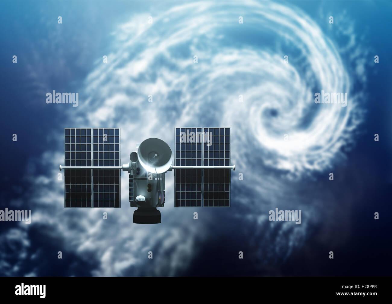 satellite orbiting earth stock photos satellite orbiting earth