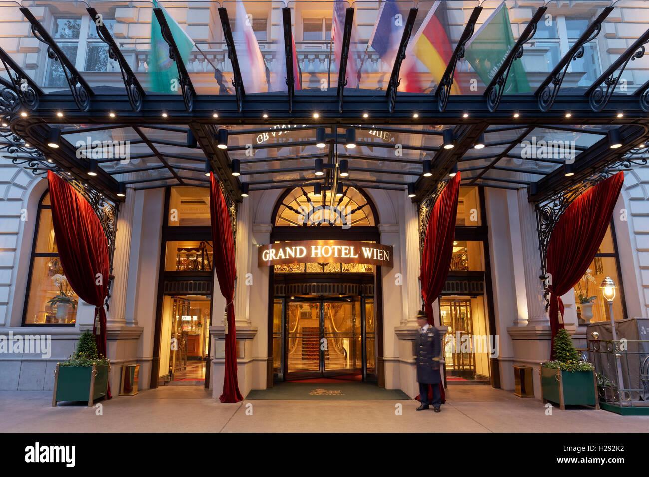 Grand Hotel Wien 5 Star Luxury Hotel Ringstrasse 1st District