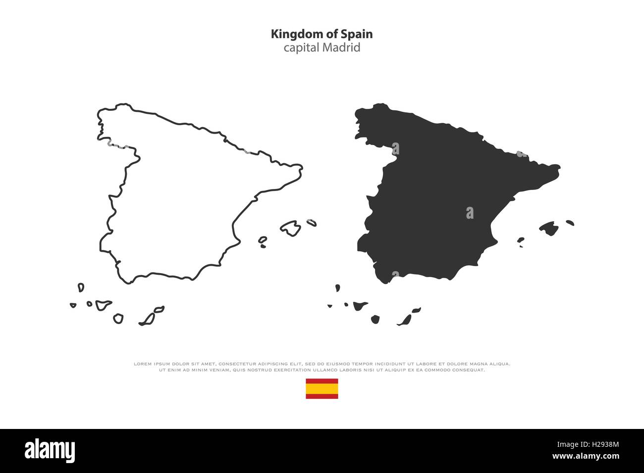 Kingdom of Spain isolated map and official flag icons. vector ... on india map icon, uk map icon, italy map icon, africa map icon, travel map icon, emea map icon, usa map icon, china map icon, russia map icon, mexico map icon, canada map icon, gps map icon, singapore map icon, brazil map icon, japan map icon, hk map icon, pa map icon, asia map icon, regional map icon, europe map icon,