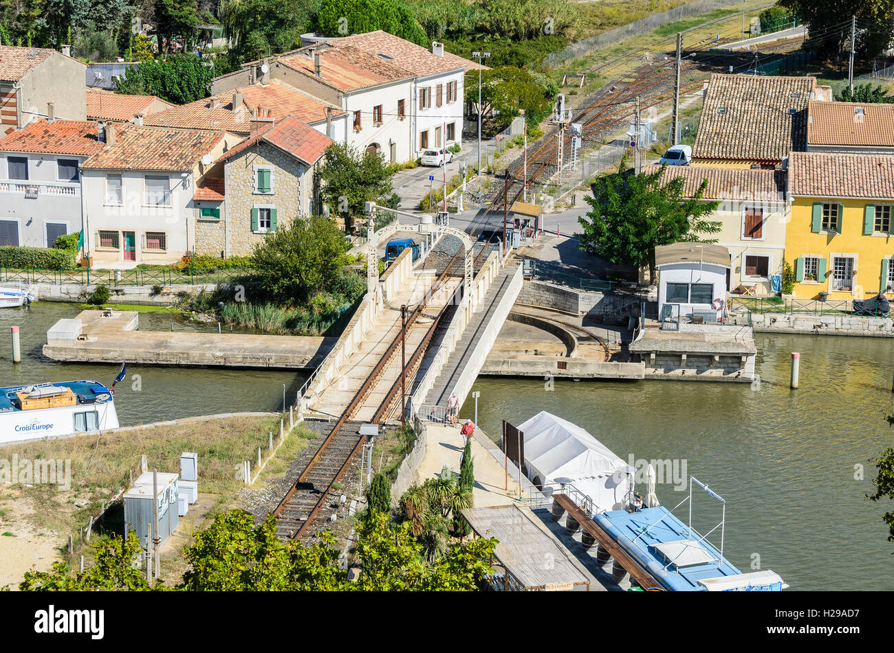 Rhône, Aigues Mortes, remparts, Gard, France - Stock Image