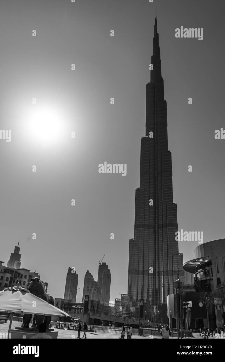 Downtown Dubai City Centre, United Arab Emirates. - Stock Image