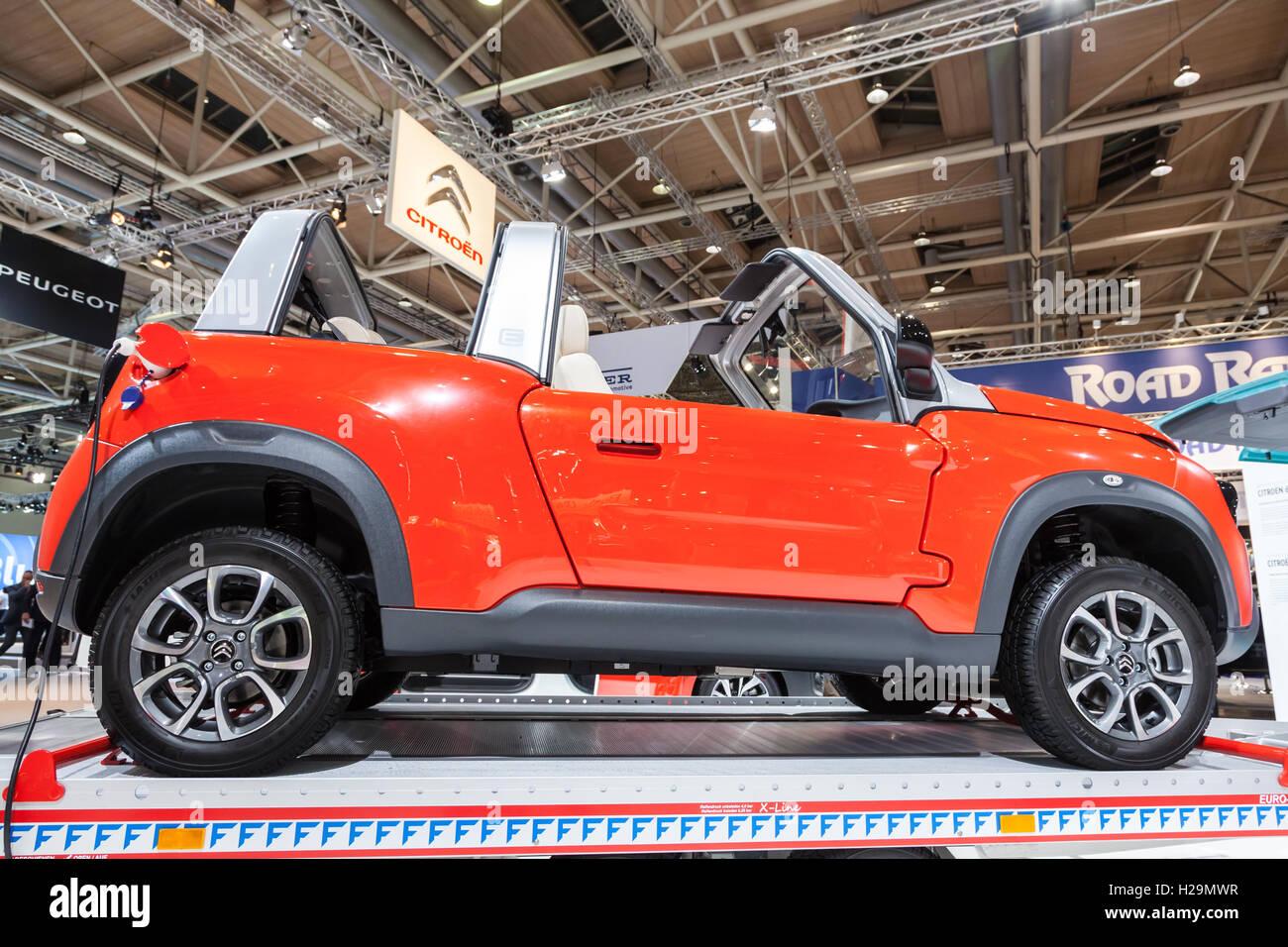 New electric E-Mehari offroad compact SUV - Stock Image