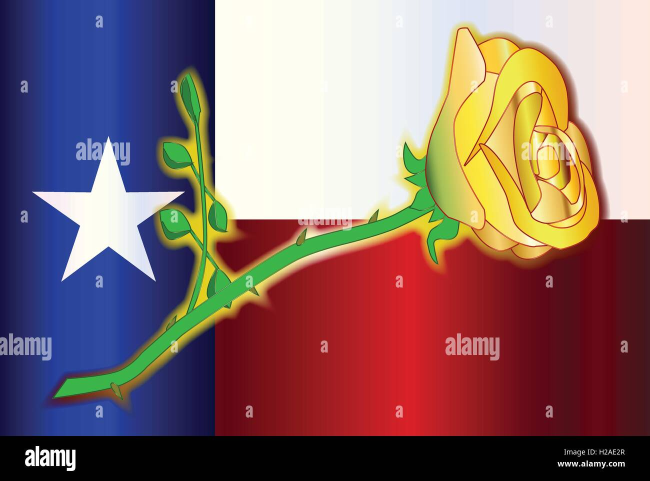 Texas State Flower Stock Vector Images Alamy
