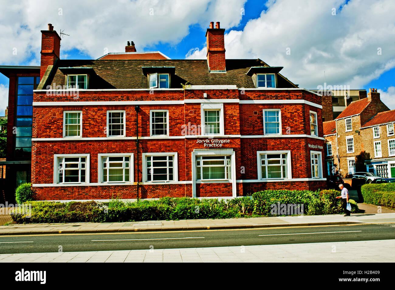 Woolpack House, Peasholme Green, York - Stock Image