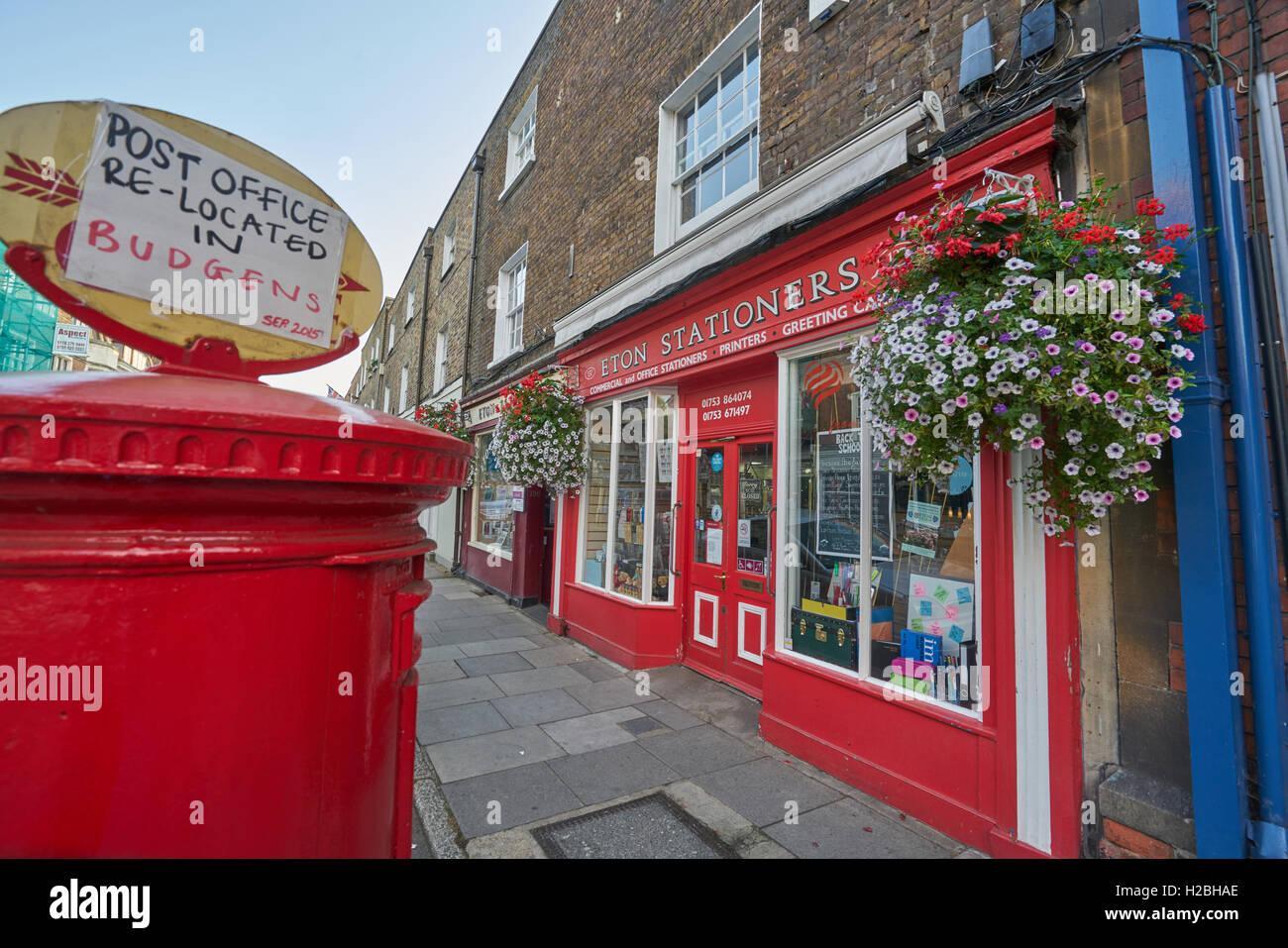 Eton stationary shop - Stock Image