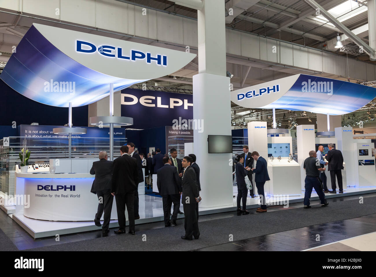 British automotive Company DELPHI Stock Photo