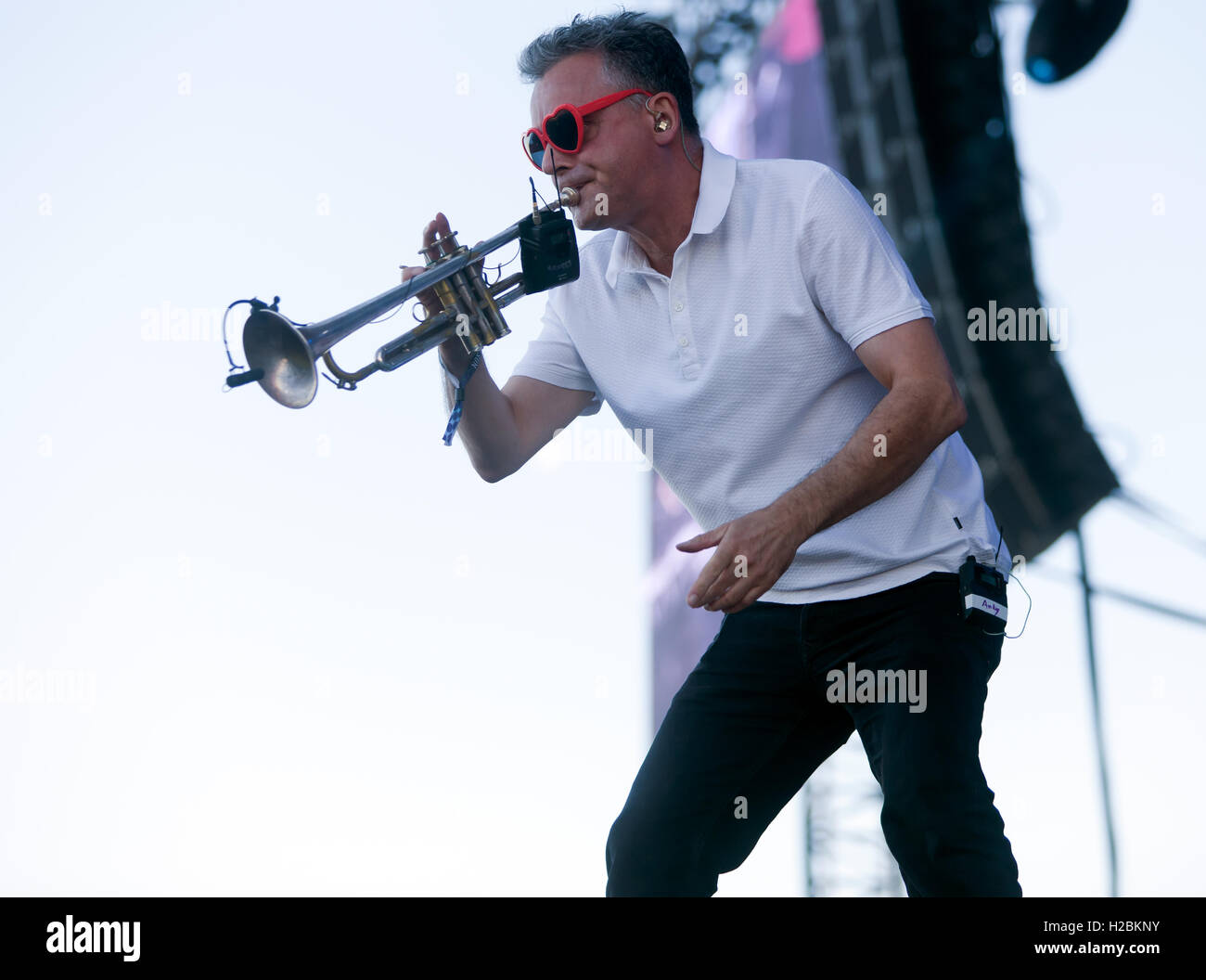 Andy diagram stock photos andy diagram stock images alamy andy diagram playing trumpet with the band james during their performance on the main stage ccuart Image collections