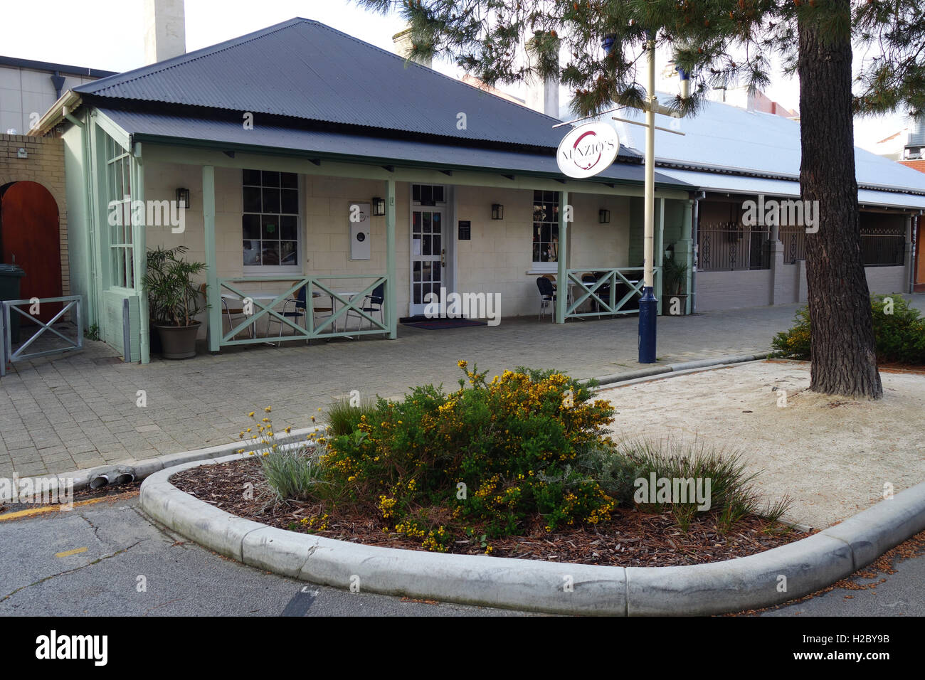 Nunzio's Restaurant in Essex Street, Fremantle, Perth, Western Australia. No PR - Stock Image