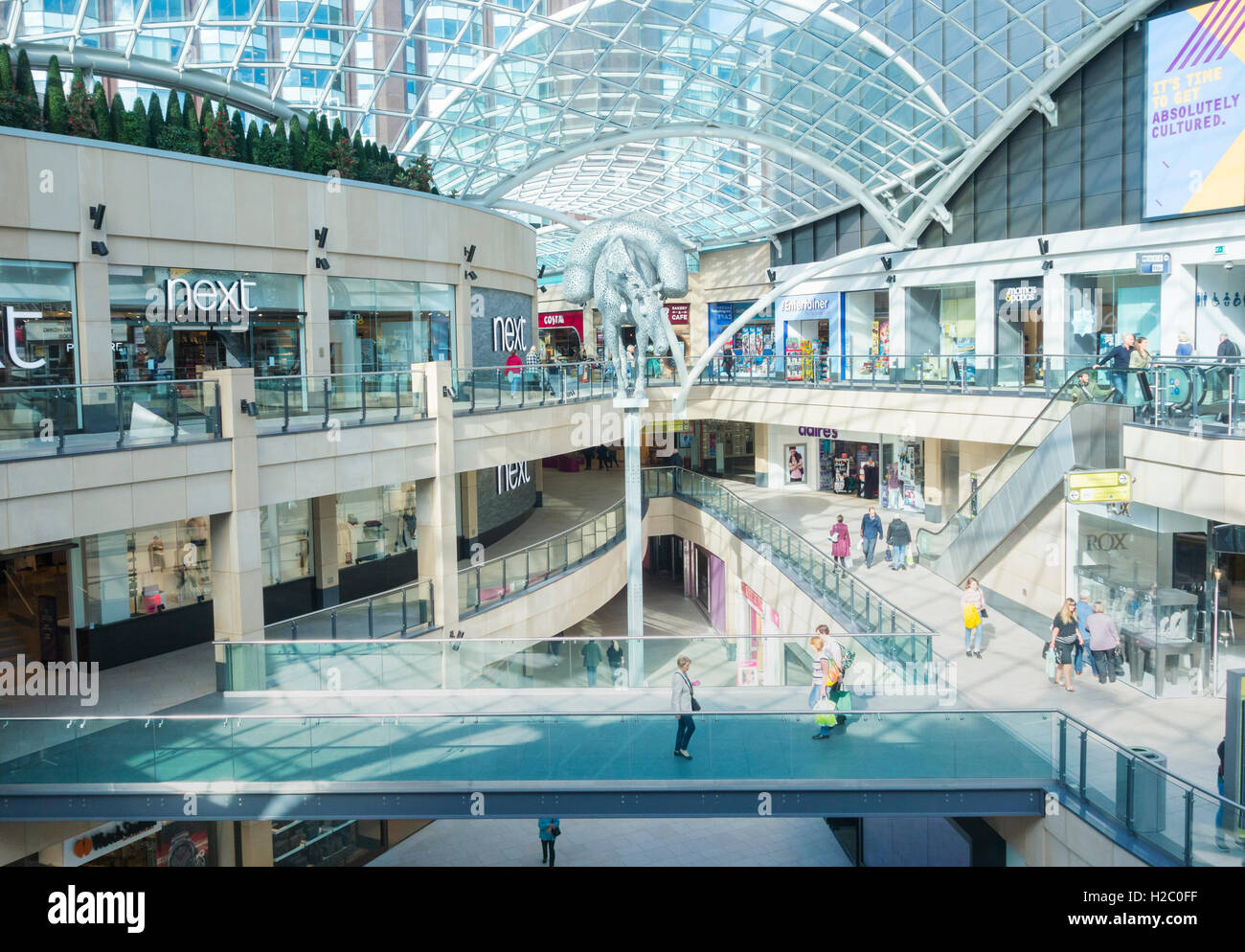 Trinity Leeds shopping centre. Leeds, Yorkshire, England.UK - Stock Image