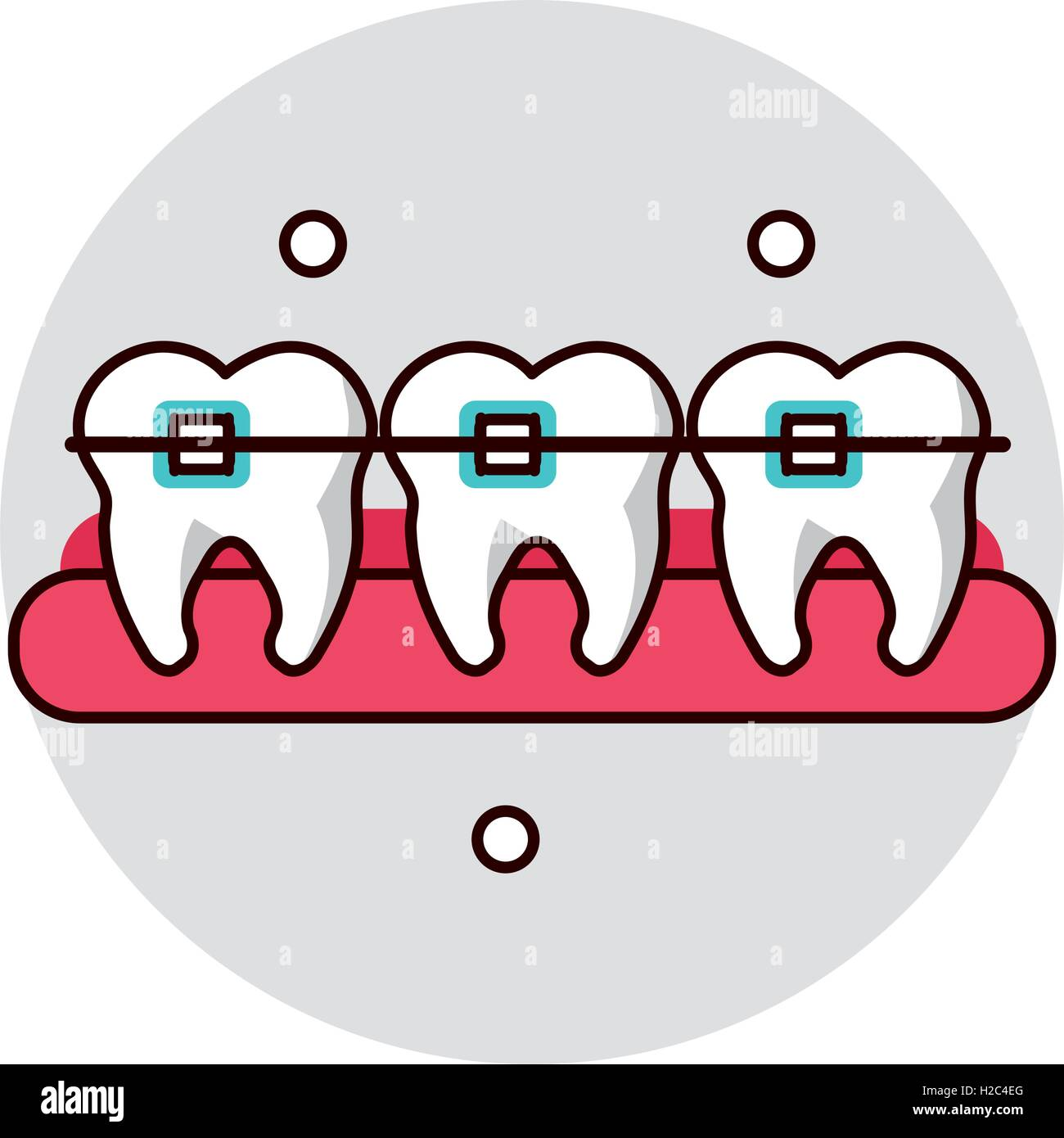 Dental medical and health care design Stock Vector