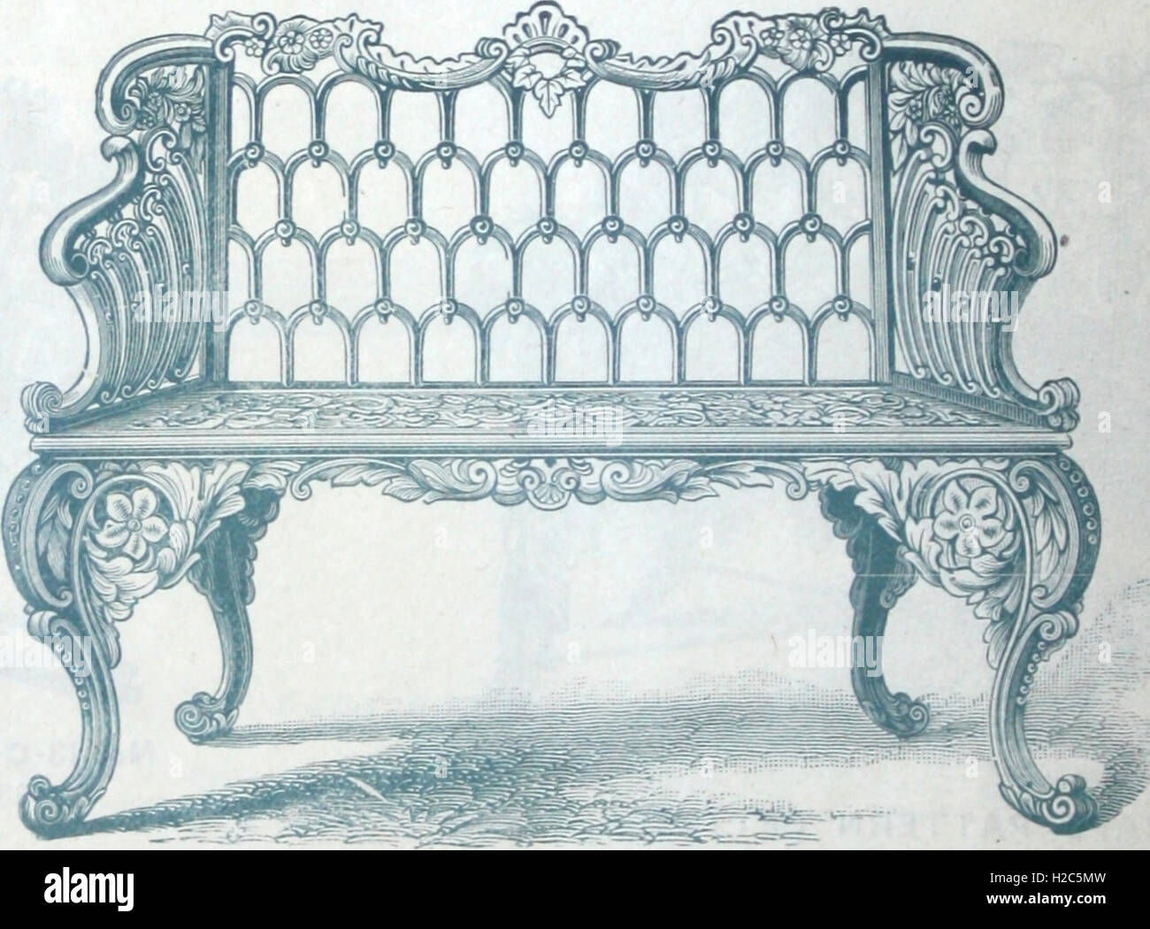 Catalogue of vases, settees, fountains and other lawn furniture (1904) (1 - Stock Image