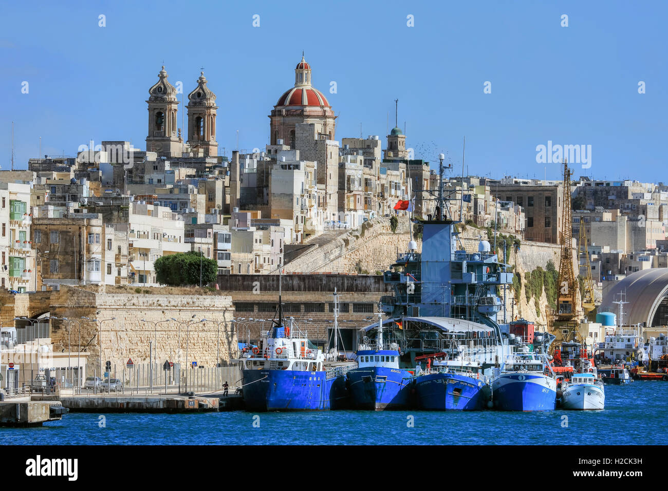 Vittoriosa, Three Cities, Malta - Stock Image