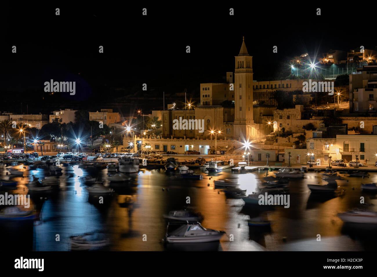 Marsaskala, Valletta, Malta - Stock Image